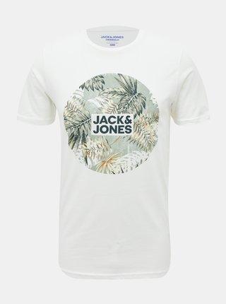 Biele tričko Jack & Jones Reli