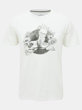 Bílé tričko Jack & Jones Roman