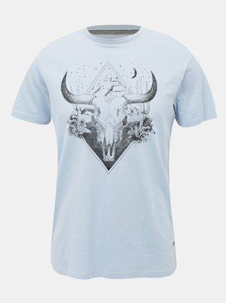 Světle modré tričko Jack & Jones Roman