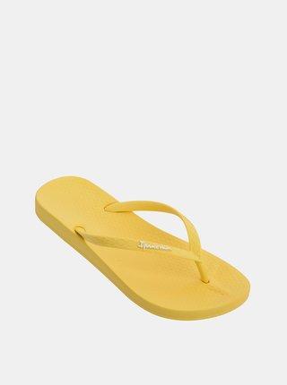 Žluté dámské žabky Ipanema