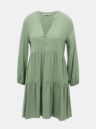 Zelené volné šaty ONLY Nova