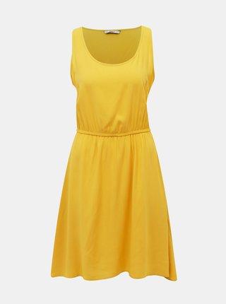 Žluté šaty ONLY Sara