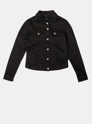 Černá dámská džínová bunda Alcott