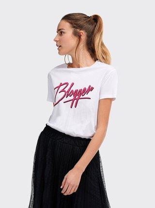 Bílé dámské tričko Alcott