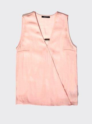 Růžový dámský top Alcott