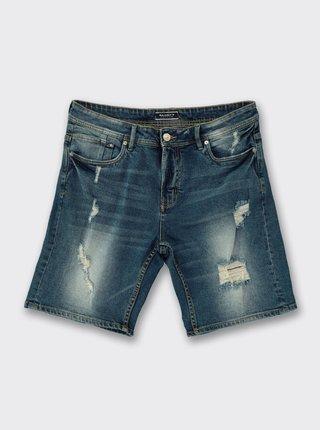 Pantaloni scurti pentru barbati Alcott - albastru inchis