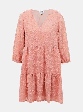 Ružové šaty AWARE by VERO MODA Laura