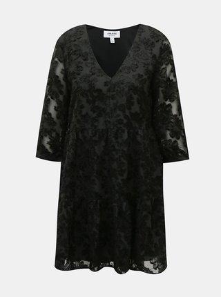 Černé šaty AWARE by VERO MODA Laura