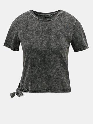 Šedé krátké tričko TALLY WEiJL