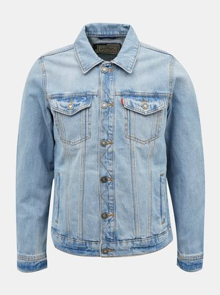 Modrá pánská džínová bunda Alcott