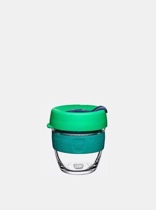 Zelený sklenený cestovný hrnček KeepCup Original small 227 ml