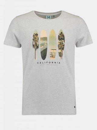 Šedé pánske tričko Haily´s Marlon