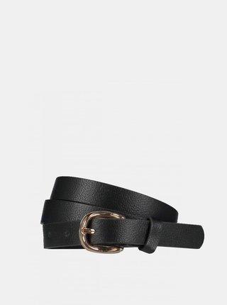 Černý dámský kožený pásek Haily´s Pina