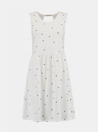 Biele vzorované šaty Haily´s Mina