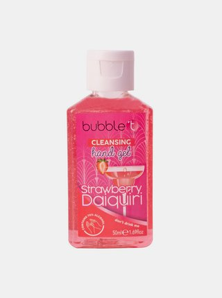 Antibakteriální gel na ruce (70% alkoholu) Bubble T Cosmetics Strawberry 50 ml