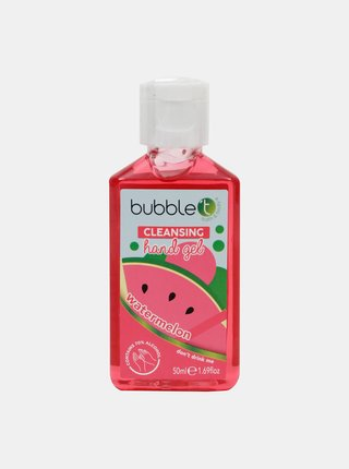Antibakteriálny gél na ruky (70% alkoholu) Bubble T Cosmetics Watermelon 50 ml