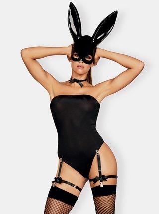Lenjerie seducatoare pentru femei Obsessive - negru