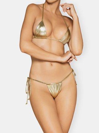 Dvoudielne plavky v zlatje farbe Obsessive Bella Vista
