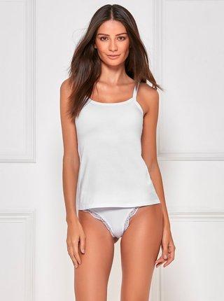 Marimi curvy pentru femei M&Co - alb
