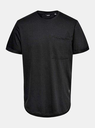 Černé tričko ONLY & SONS Gavin
