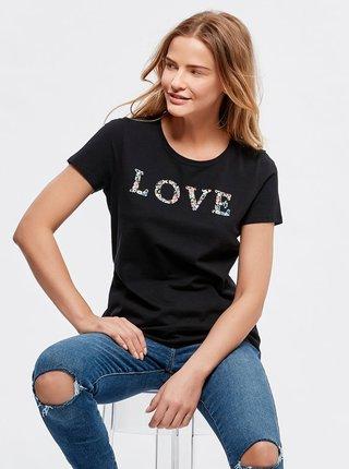 Čierne tričko M&Co