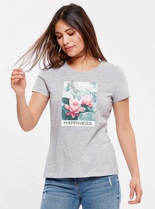 Šedé tričko M&Co