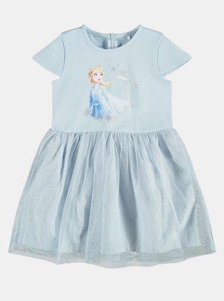 Modré dievčenské šaty name it Frozen