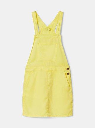 Žlté dievčenské šaty name it Atess
