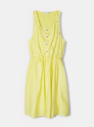Žlté dievčenské šaty name it Haysha