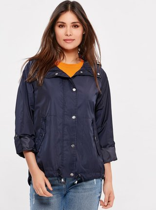Tmavě modrá lehká bunda M&Co