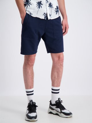 Pantaloni scurti pentru barbati Shine Original - albastru inchis