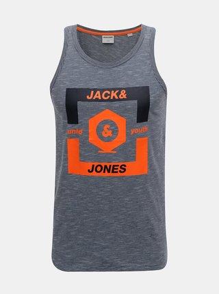 Tmavě modré tílko Jack & Jones Strong
