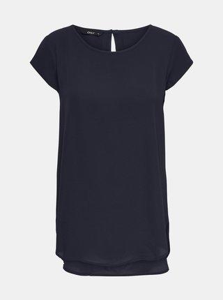 Tmavomodré tričko ONLY Nova