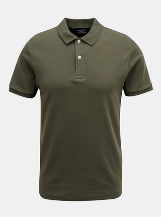 Tmavě zelené polo tričko Selected Homme Philip