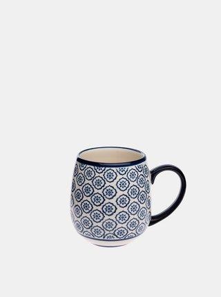 Modrý keramický hrnek Dakls 390 ml
