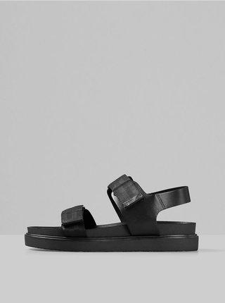 Čierne pánske sandále Vagabond Seth
