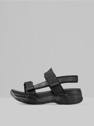Černé dámské sandály na platformě Vagabond Lori