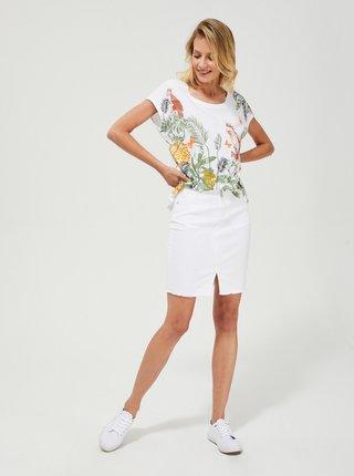 Bílá sukně Moodo