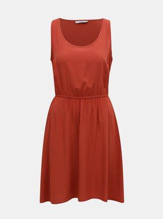 Cihlové šaty ONLY Nova