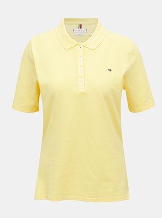 Tricouri pentru femei Tommy Hilfiger - galben