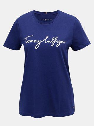 Tricouri pentru femei Tommy Hilfiger - albastru