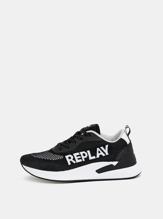 Čierne dámske tenisky Replay