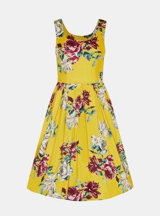 Žlté kvetované šaty Dolly & Dotty