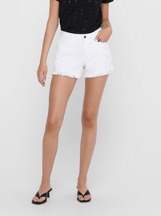 Bílé džínové kraťasy Jacqueline de Yong Lee