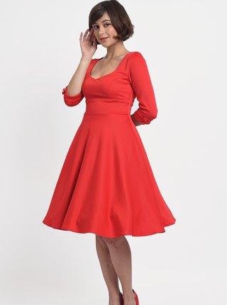 Červené šaty Dolly & Dotty