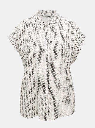Šedá dámska vzorovaná košeľa Tom Tailor