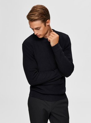 Černý svetr Selected Homme