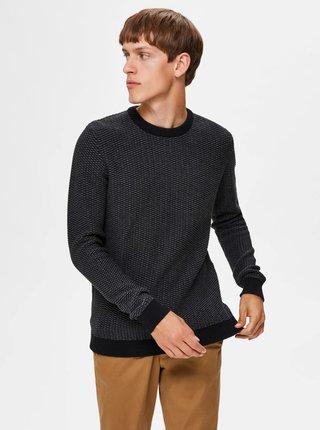 Tmavě šedý svetr Selected Homme