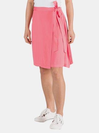 Ružová zavinovacia sukňa SAM 73
