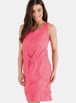 Ružové šaty s potlačou SAM 73